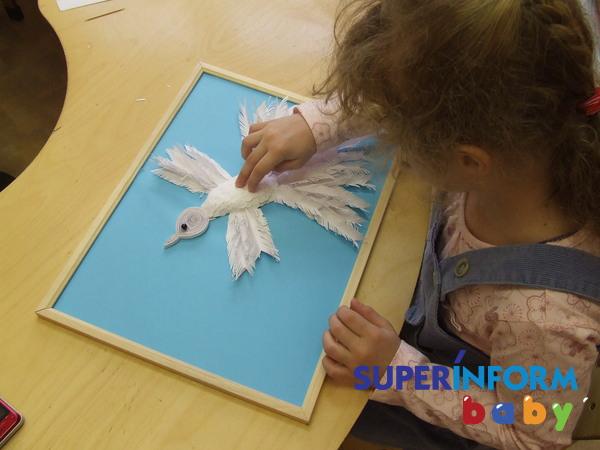 Как сделать квиллинг голубя - символа мира своими руками? - Мастер-класс